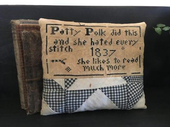 Patty Polk Pillow Tuck Set Photo
